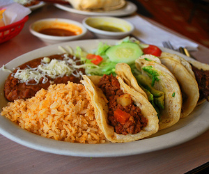 food, mexican food, and porn image