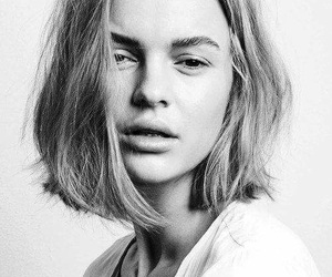 blackandwhite, portrait, and face image