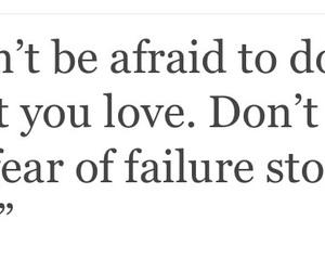 afraid, beautiful, and failure image