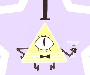 wallpapers, gravity falls, and bill cipher image