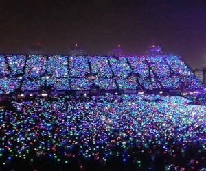 coldplay, music, and foro sol image