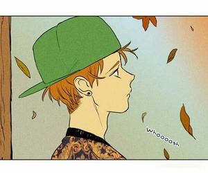 manhwa, naver, and cheese in the trap image