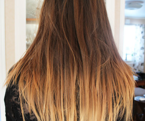 hair, blue, and ombre image