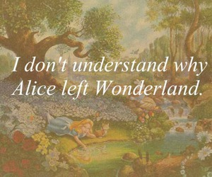 alice, aliceinwonderland, and text image