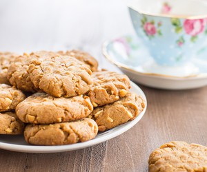 Cookies, peanut butter, and vegan image