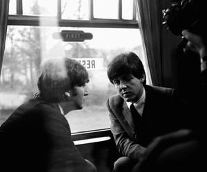 60s, john lennon, and Paul McCartney image