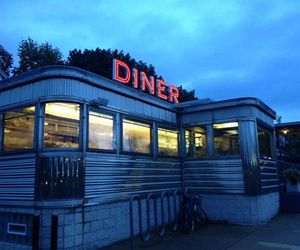 blue and diner image