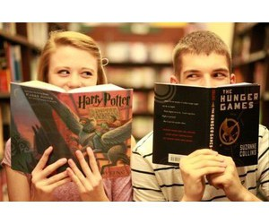 books, minimi, and harry potter image