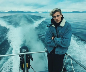 boy, lucky blue smith, and blue image