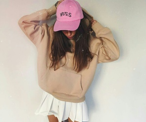 cap, clothes, and outfit image