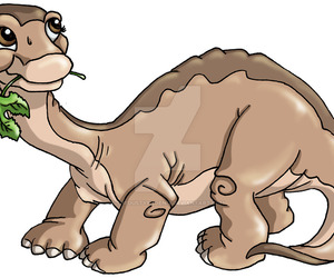 dinosaur, little foot, and the land before time image