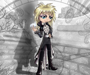 jareth, labyrinth, and thedustyphoenix image