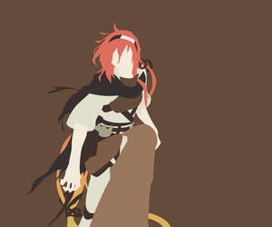 anime, hero, and minimal image