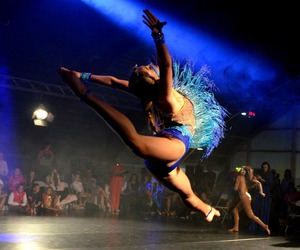 blue, pointe, and freestyle discojazz image