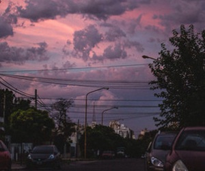 sky, lilac, and purple image