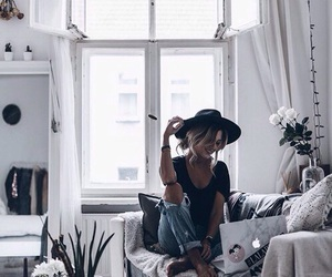 fashion, hat, and room image