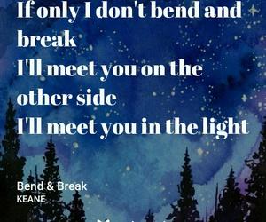 keane, quote, and Lyrics image