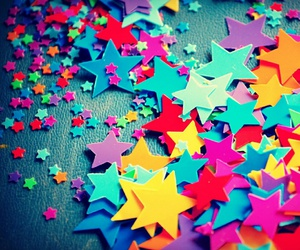 stars, colors, and colorful image