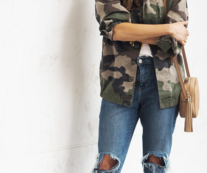 camo, trend, and chanel image