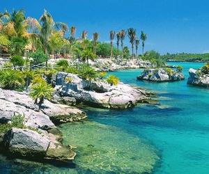 beach, cancun, and mexico image