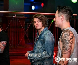 asking alexandria, james cassells, and ben bruce image