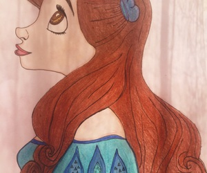 ariel, disney, and draws image