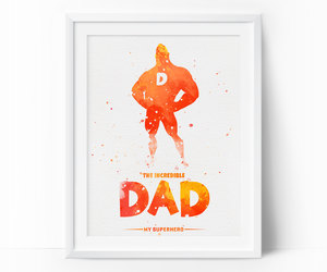etsy, gift for dad, and The Incredibles image
