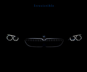 angel, black, and bmw image