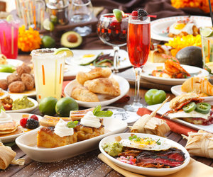 brunch and food image