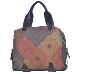 etsy, leather bags, and rug rag purse image