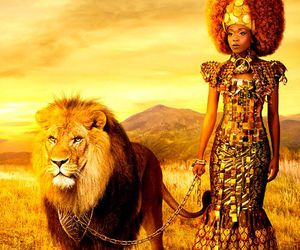 African, lion, and Queen image