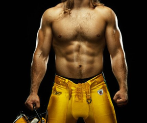 clay, muscle, and clay matthews image