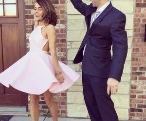 dress and cute homecoming dress image