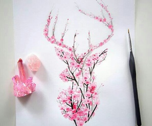 amazing, crystal, and drawing image