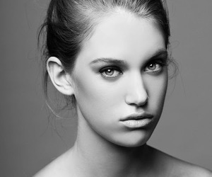 bun, photography, and Portrait photography image