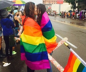 couples, pride, and cute image