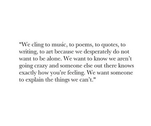 quotes, music, and poem image