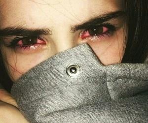 eyes, sad, and cry image