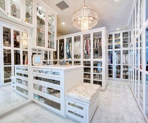 closet, luxury, and home image