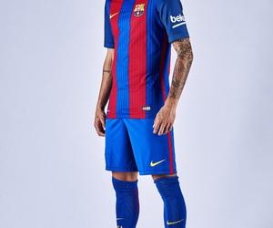 fc barcelona, neymar jr, and 2016-2017 image