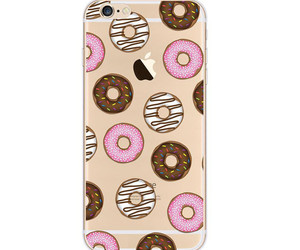 case, donut, and iphone 5s image