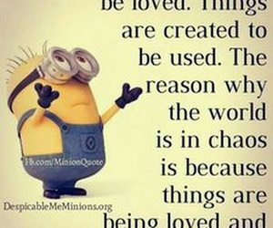 minion and quote image