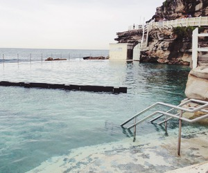ocean, pool, and beach image