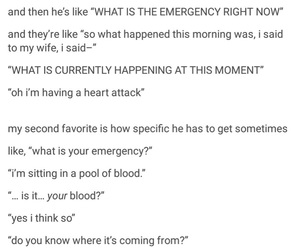 emergency, funny, and jokes image
