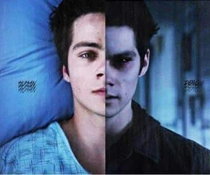 dark, evil, and teen wolf image