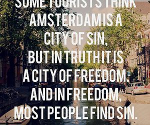 freedom, quote, and sin image