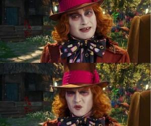 johnny depp, mad hatter, and hatter image