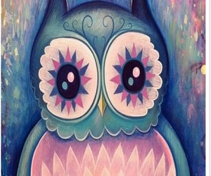 owl, wallpaper, and pink image