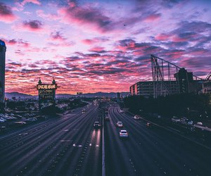 cars, pink, and purple image