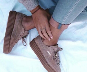 puma, shoes, and style image